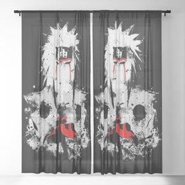Jiraiya Sheer Curtain