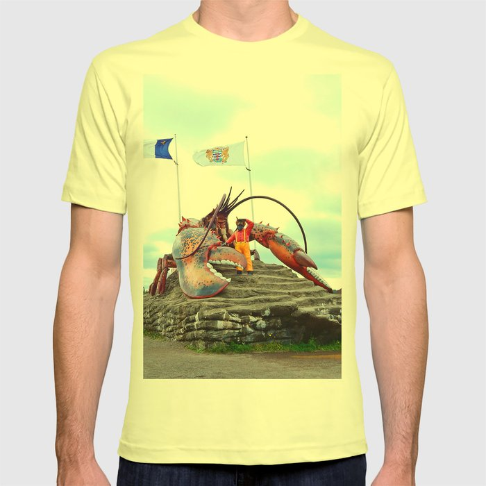 Shediac Lobster T-shirt by danbythesea | Society6