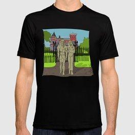 """Tourists on Broadway"" 2013 a.correia T-shirt"