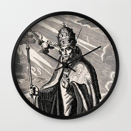 Saint Gregory the Great Wall Clock