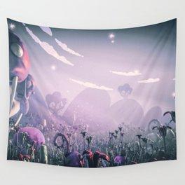 Plasticine World Wall Tapestry