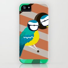 Blue Tit iPhone SE Slim Case