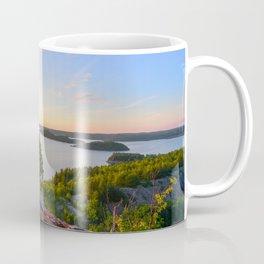 Sunset over Quirke Lake Coffee Mug