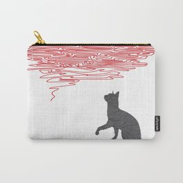 Cat & Wool Carry-All Pouch