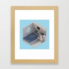 NAKAGIN Capsule Tower Interior Framed Art Print