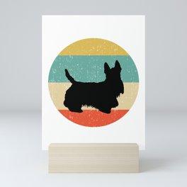 Scottish Terrier Dog Gift design Mini Art Print