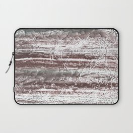 Gray blurred watercolor Laptop Sleeve
