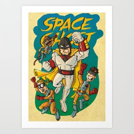 Space!!! Art Print