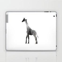 Abstract Black & White Giraffe Art Laptop & iPad Skin