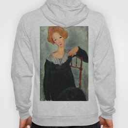 "Amedeo Modigliani ""Woman with Red Hair"" (1917) Hoody"