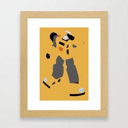Transformers G1 - Autobot Bumblebee Framed Art Print