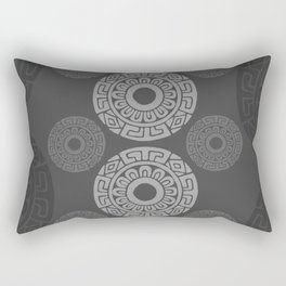 Mexican Grays Rectangular Pillow