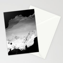 Snowy Isolation Stationery Cards