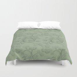 The Night Gardener - Endpapers Duvet Cover