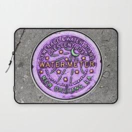 New Orleans Mardi Gras NOLA Water Meter Laptop Sleeve