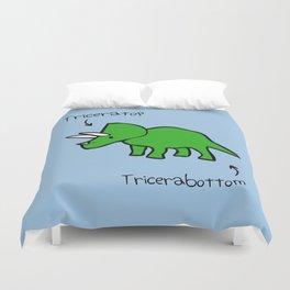 Triceratops Tricerabottom Duvet Cover