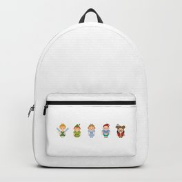 Peter Pan All Pixel Characters Backpack