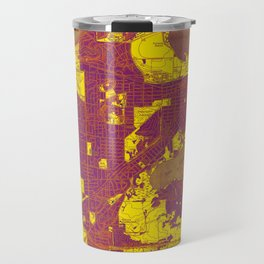 Madison West Wisconsin vintage map year 1959, rustic map, poster map Travel Mug