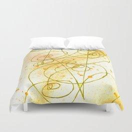 Golden Dream Duvet Cover