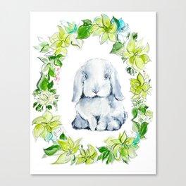 Bunny Baby Canvas Print