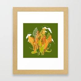 Brachio Grove Framed Art Print