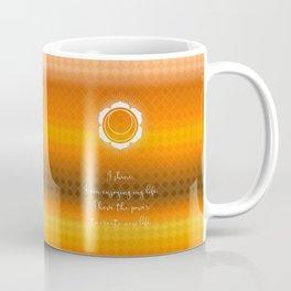Chakra Series Svadhishthana(Second Chakra)Affirmation Coffee Mug