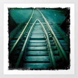 track #1 Art Print