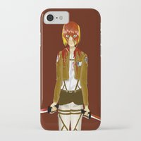 snk iPhone & iPod Cases featuring Bloody Armin by Paula Urruti