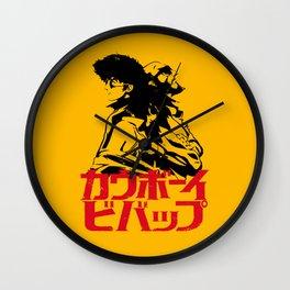 001 Cowboy Bebop Trio Wall Clock