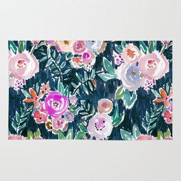 Midnight PROFUSION FLORAL Rug