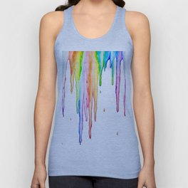 Colorful Icicles Unisex Tank Top