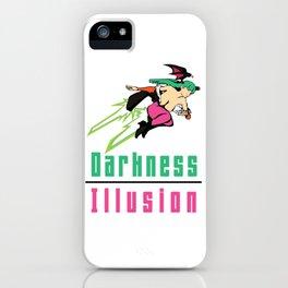 Darkness Illusion iPhone Case