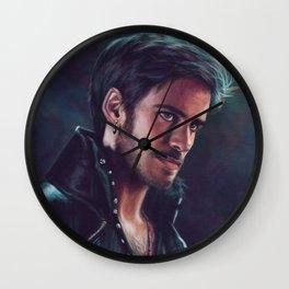 Dark Hollow Wall Clock