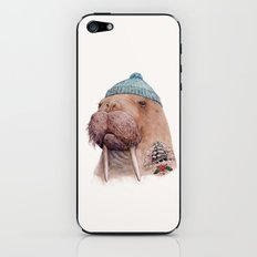 Tattooed Walrus iPhone & iPod Skin