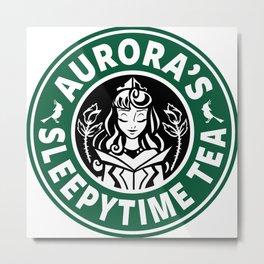 Aurora's Sleepytime Tea Metal Print