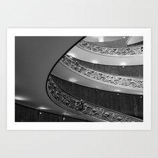 Vatican circular staircase Art Print