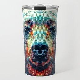 Bear - Colorful Animals Travel Mug