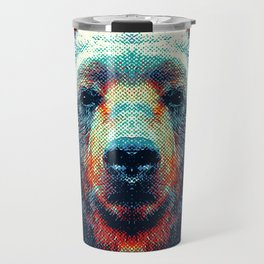 Bear - Colorful Animals Travel Mug