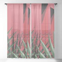 In Tropics Sheer Curtain