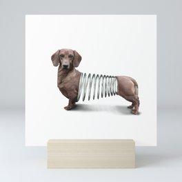 Slinky Dog Mini Art Print