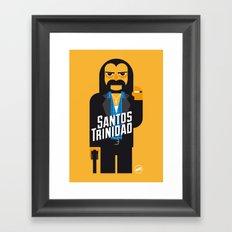 Santos Trinidad Framed Art Print