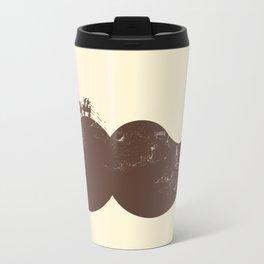 Mustache Ride Travel Mug