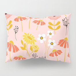 Marguerite Daisy Pillow Sham