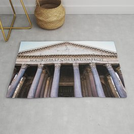 The Beautiful Pantheon of Rome, Italy Rug