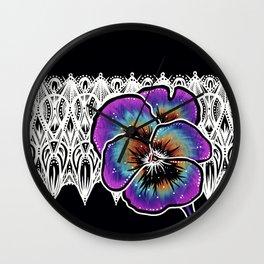 Pansy- Catalyst Gardens Wall Clock