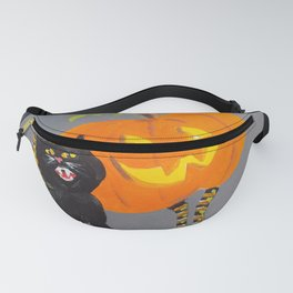 Jack and Black Cat Fanny Pack