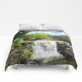 Hawaiian  Garden Comforters