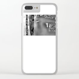 Ghost Gangster Clear iPhone Case