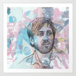 Dan Auerbach - King Of A One Horse Town Art Print