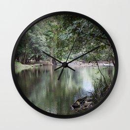 Rainforest Crossing Wall Clock